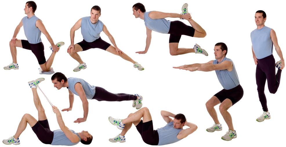 Похудение для мужчин в домашних условиях тренировки